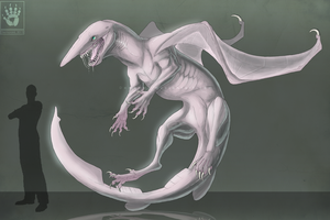 Goblin Shark Dragon by DemonML