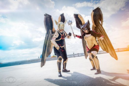 Hawks in the City by A-OkayCosplay
