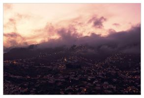 Funchal By Night by DSent