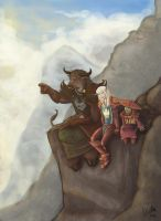 Friends in High Places by Ninami
