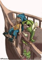 Yugo and Amalia - unfinished by GlancoJusticar