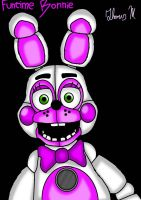 Funtime Bonnie (Fan Made Character) by Plushy1983