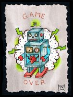 Game over by Peggysue13