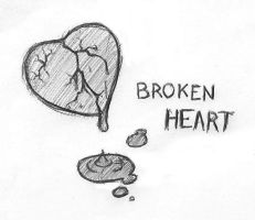A Broken Heart by tridaln08