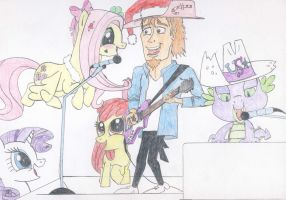 MLP:FiM - A Rocking Christmas Party. 2 by MortenEng21