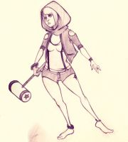 Streetclothes OC: Aria by necromorphs