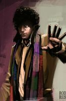 Tom Baker 4th Doctor by RodReis