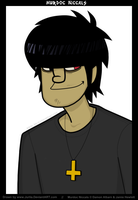 Murdoc Niccals by Juriia