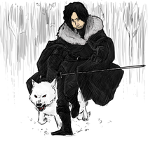 GoT: Jon Snow by LadyNorthstar