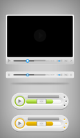 Media Player UI Free PSD Template by vesperTiLo