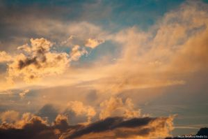 Clouds At Sunset 1 by jndphotography