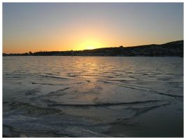 Sundsvall Harbour Sun-up 3 by FuchsiaG