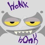 HoNk hOnK: Homestuck T-Shirt Contest Design #2 by vampire-L