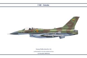 Fantasy 324 F-16C Colombia by WS-Clave