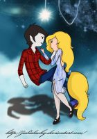 Fionna and Marshall Lee. 3 by JuliaLucky