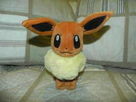 My Pokemon Plushie Collection - Eevee by Necrophilliacness