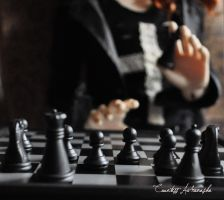 Black Chess by CountessAudronasha