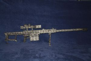 2nd Generation 50 cal. Rifle by RayMackenzie