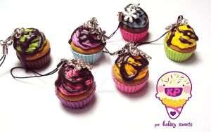 sirup cupcakes by KPcharms