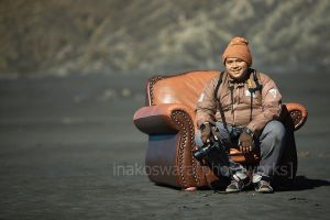 Me on bromo by hirza