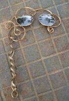 Lady's steampunk lorgnette by fairyfrog