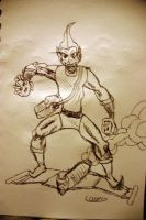 The Green Goblin by stick-man-11
