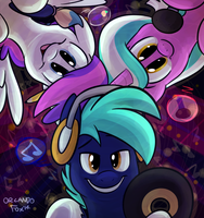 Bronycon Mascots by TheDoggyGal