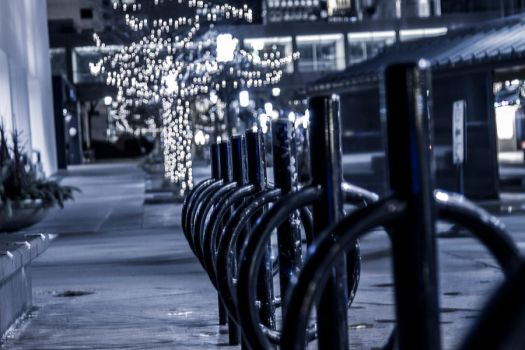 Bike Rack with Bokeh by dmurphy570