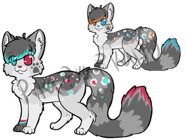 Design Auction (Two Designs For One) by Pika-Pika-Pikahu