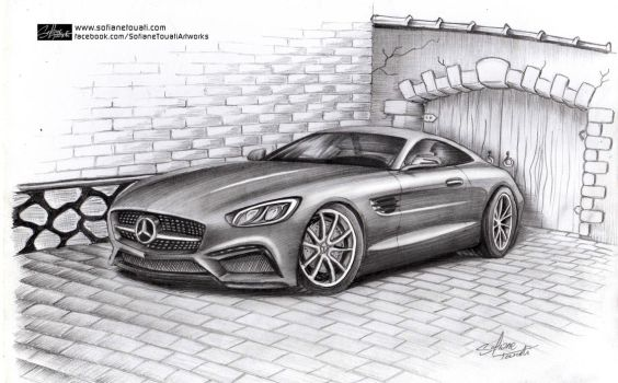 Mercedes GT AMG by SofianeTOUATI