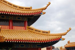 epcot china roof II by katiezstock