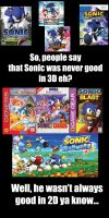 A 3D Sonic game is Illegal? by MeltingMan234