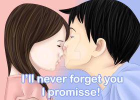 I'll Never forget you, I promisse by Shimgu