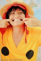 One Piece Film Z Luffy by Les--Chan
