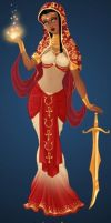 Goddess Maker: Hathor by HC-IIIX