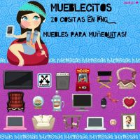 Pack de Muebles para Vectorizar! by JuuhLii