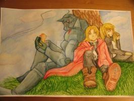 FMA: Into the Sky by the-equilibrist