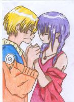 NaruHina: Your gentle touch... by vulpixhelen