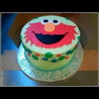 Elmo Cake by theSugarmonger