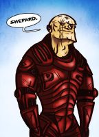 Human Wrex by Fishmas
