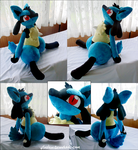 Huge Lucario by xSystem