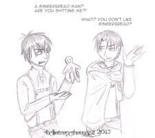 SnK: Gingerbread by Heliotrope-Housecat