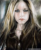 AVRIL LAVIGNE  a portrait by tomjogi