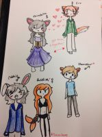 Cheap adopts~ OPEN 1/5 by InuLover097