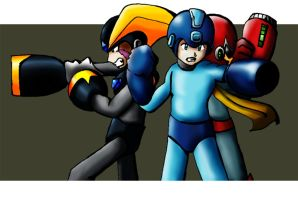 Rockman Trio by MoChY
