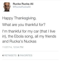 a Nucka thanksgiving quote by Mikeoeagle