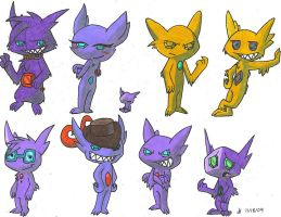 Sableye OCs Collection by VibrantEchoes