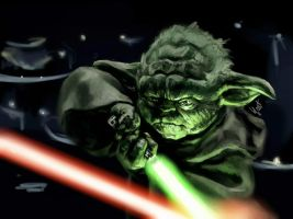 Yoda by BilberryCat