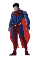 Superman Re-design by Daystorm