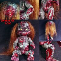 Rot Tot Meredith Zombie detail by Undead-Art